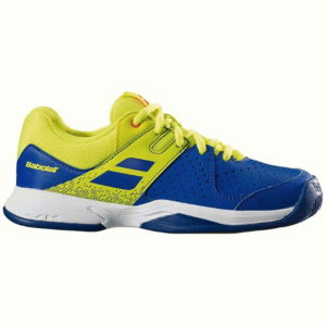 BABOLAT PULSION ALL COURT BLUE/FLUO YOUTH TENNIS